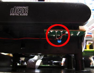 Entprellung CD-Laden Endschalter mit Kondensator