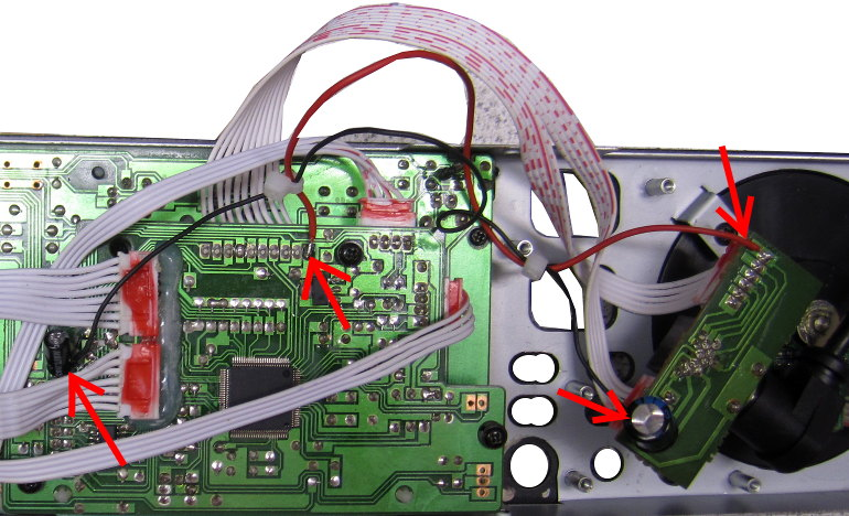 CD-Player Versorgungsverbesserung